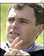 National Conference Party leader Omar Abdullah