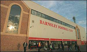 Barnsley's Oakwell ground