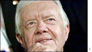 2002 Nobel Peace Prize winner Jimmy Carter