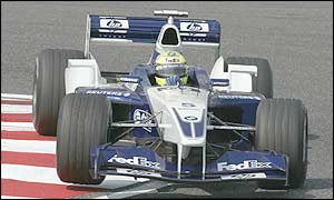Ralf Schumacher in his Williams