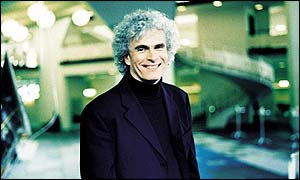 Sir Simon Rattle (photograph: Simon Fowler)