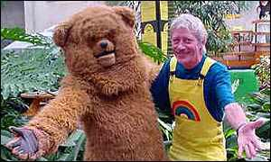 Geoffrey Hayes and Bungle