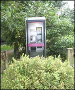 Payphone at Dunsop Bridge