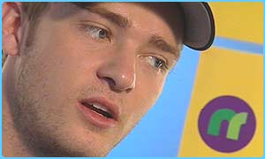 Justin Timberlake talks to Newsround Lite