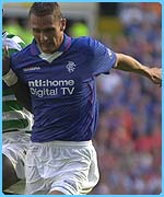 Rangers' star Peter Lovenkrands