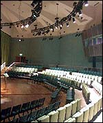 recital hall at Esplanade (photo: Esplanade Co. Ltd)
