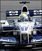 Ralf Schumacher in the Williams-BMW at the Japanese Grand Prix