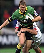 Northampton winger Nick Beal
