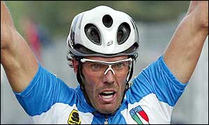 Cipollini had announced his retirement in July after he was not invited to compete in the Tour de France