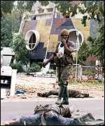 Casualties of Congo-Brazzaville fighting