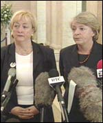 MLAs Monica McWilliams and jane Morrice