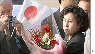 Hitomi Soga, one of five Japanese kidnapped by North Korean agents