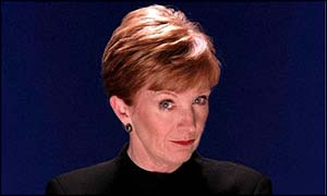TV host Anne Robinson