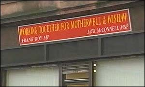 Jack McConnell's constituency office