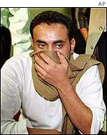 Hijacker of Saudi plane, October 2000