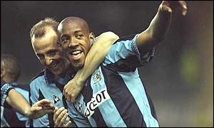 Dion Dublin struck a total of 72 goals for Coventry City