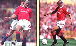 Dion Dublin's spell at Manchester United was hampered by injury