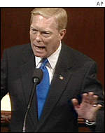 House of Representatives Minority Leader Richard Gephardt