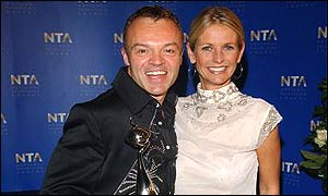 Ulrika Jonsson and Graham Norton