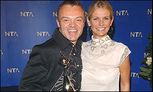 Graham Norton and Ulrika Jonsson