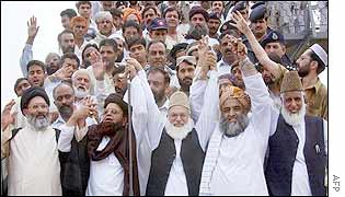 Leaders of Pakistan's Islamist parties