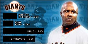 The Giants can call on much more than just the power of Barry Bonds, reports BBC Sport Online's Kevin Asseo.
