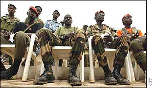 Ivory Coast rebel leaders