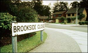Brookside, created by Phil Redmond
