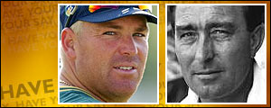 Would Shane Warne have the measure of Denis Compton?