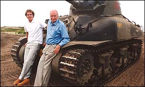 son and father Dan and Peter Snow