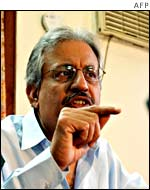 Raza Rabbani, secretary-general of Pakistan Peoples Party