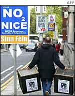 Signpost of the No campaign