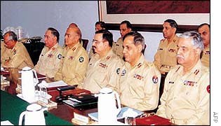 Pakistan army commanders