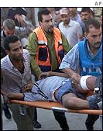 Palestinian casualty in Rafah