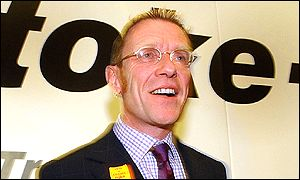 Mike Wolfe, new mayor of Stoke-on-Trent