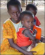 Children in Cabinda