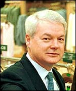 Luc Vandevelde chairman of Marks and Spencer