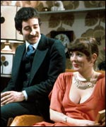 Tim Stern and Alison Steadman in Abigail's Party