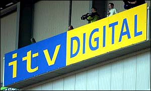 The ITV Digital emblem before its collapse