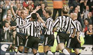Shearer has been rejuvenated since Bobby Robson's arrival as Newcastle boss in 1999