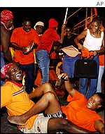 PNP supporters celebrate victory
