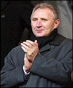 Sunderland boss Howard Wilkinson