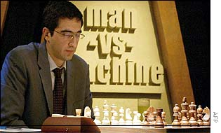 Kramnik in his Saturday match