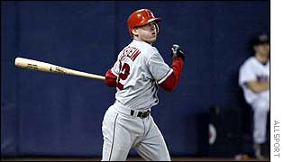 Anaheim shortstop David Eckstein