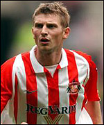 Sunderland and Norway striker Tore Andre Flo