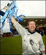Queen of the South keeper Andy Goram
