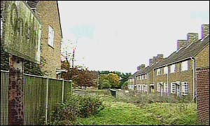 Empty homes at RAF West Raynham