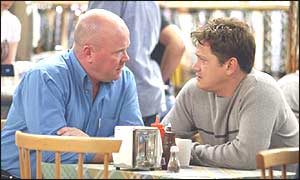 EastEnders characters Phil and Ricky