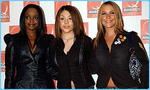The Sugababes won best single