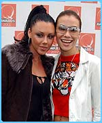 Liberty X girls Michelle and Jessica